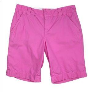 Lilly Pulitzer Pink Bermuda Shorts size 8